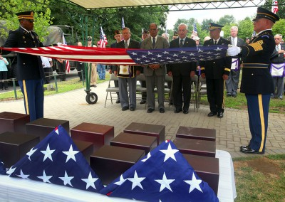 Cremains of veterans to be honored at final resting place